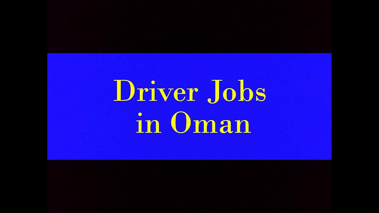Driver Jobs in Oman