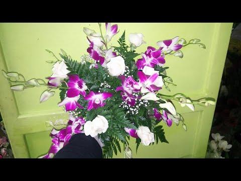 Lezione 10 il fiorista come creare un centrotavola con - Come curare un orchidea in casa ...