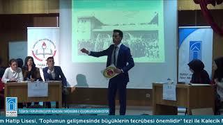 TUŞBA'DA 'FİKİRLER KONUŞUYOR' MÜNAZARA YARIŞMASININ 2. EŞLEŞMELERİ DEVAM EDİYOR