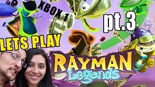 Mom & Dad Play Rayman Legends: Teensies in Trouble (Enchanted Forest) Xbox One Commentary Part 3