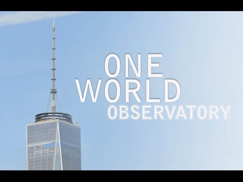 One World Trade Center | Observatory Elevator Up & Down and spectacular New York City Panorama