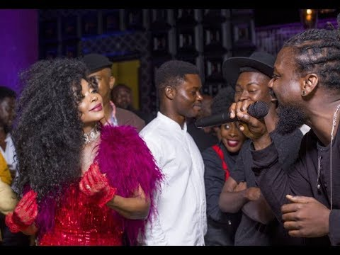 Samini performs #MyOwn and #OneMore at Stephanie Benson's 50th birthday party