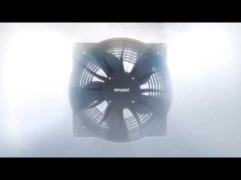 Axial fan AxiBlade - New standards in refrigeration and air conditioning industry