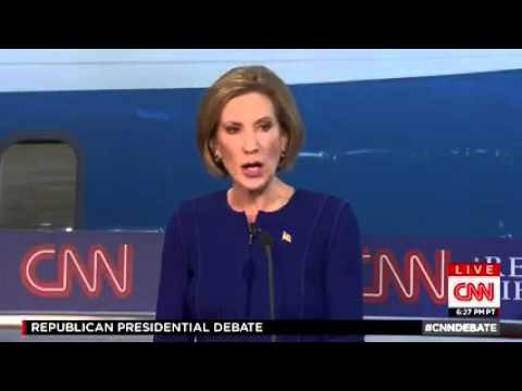 CNN Debate: Carly on immigration