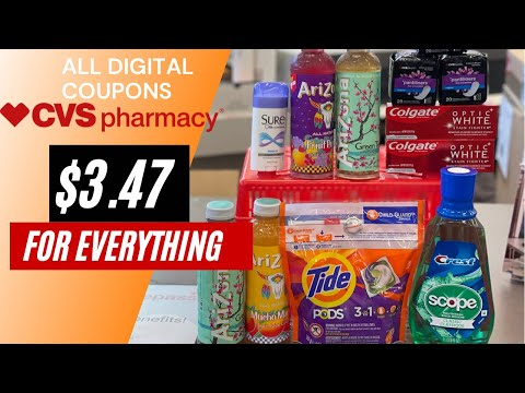 CVS COUPONING |ALL DIGITAL COUPONS| EASY DEALS | LEARN HOW TO COUPON THIS WEEK 3/7-3/13