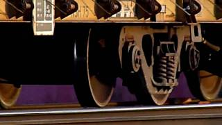traincar wheels sliding