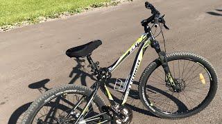 Мой Велосипед STINGER ZETA D 27,5   🚴♀️ 🚴♂️  ОБЗОР СПУСТЯ ГОД - РЕМОНТ