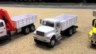 "BNSF ""Arlington Sub"" Ho Scale Mow Trucks"