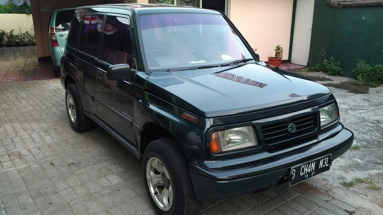In Depth Tour Suzuki Escudo JLX 1st Gen 1994  Indonesia