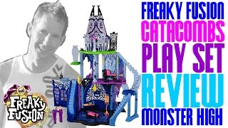 Catacombs Play Set Freaky Fusion Review - Monster High