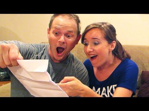 WHEN WE FOUND OUT! (Parents find out baby's gender)