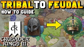 Tribal to Feudal How to Guide for Crusader Kings 3 (Adopting Feudal Ways)