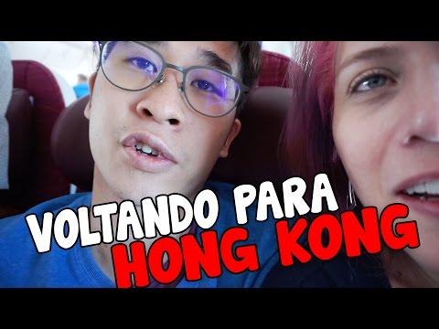 VOLTANDO PARA HONG KONG EM 26 HORAS DE VIAGEM - BUNDA QUADRADA