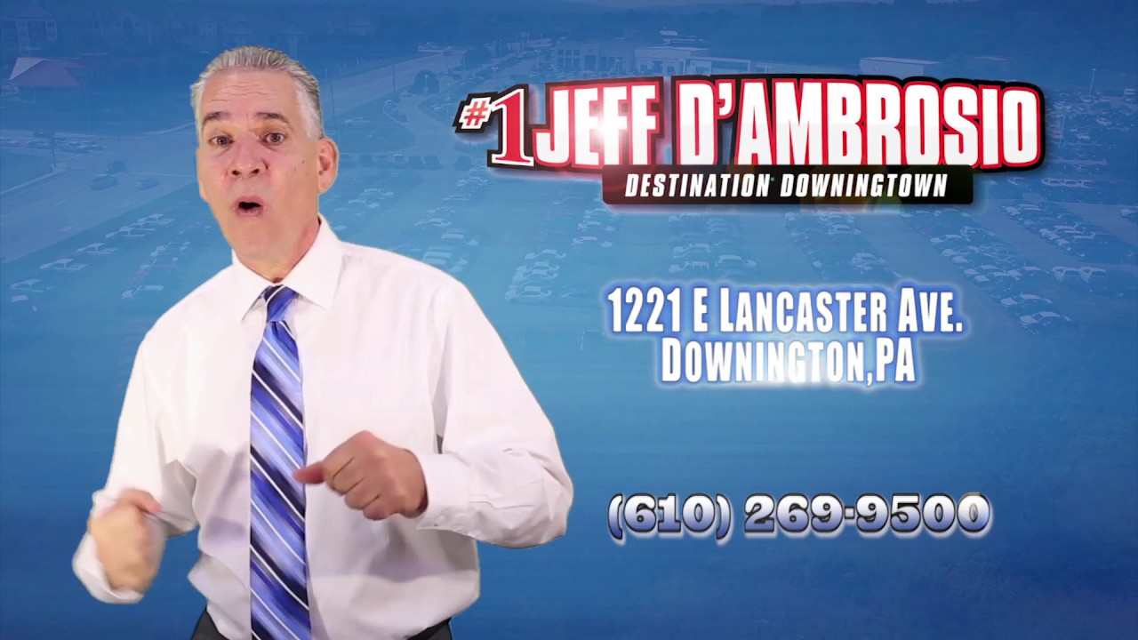 Jeff D Ambrosio Commercial Youtube
