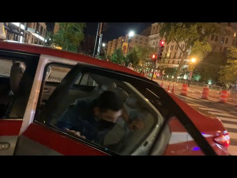 Download Taxi Driver kicks Lying  Pred out of his car!