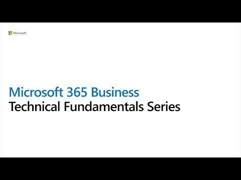 1 Microsoft 365 Business Tech Series - Partner Overview