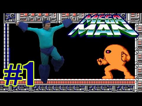 Mega Man 1 - Só na Buster - Parte 1 - O Desafio do SubZero me afetou!