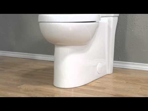 Toilets: Studio Concealed Trapway Dual Flush Toilet By American Standard - New