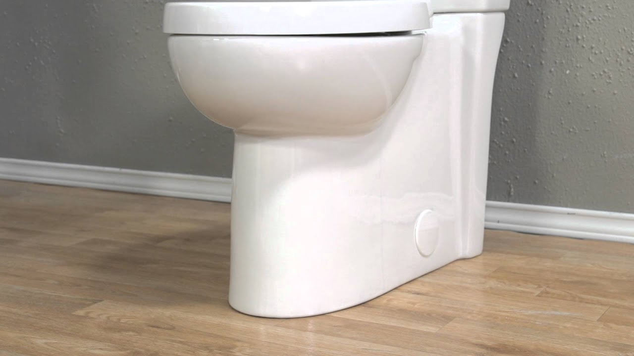 Toilets Studio Concealed Trapway Dual Flush Toilet By