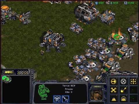 Starcraft Broodwar Big Game Hunters 1 Terran vs 7 Protoss