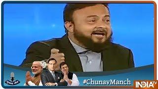 #ChunavManch: Modi पर  देश के मुसलामानों की क्या राय ? Rashid Alvi vs Zafar Sareswala vs Mohsin Raza