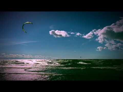 Кайтсерфинг (серфинг с парашютом) на Финском заливе