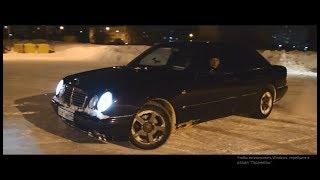 Mercedes-Benz W210 2.8 VS Chrysler Cirrus 2.5 и как не надо менять лобовое стекло