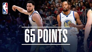 Kevin Durant & Klay Thompson Put Golden State Up 3-1 | April 21, 2019