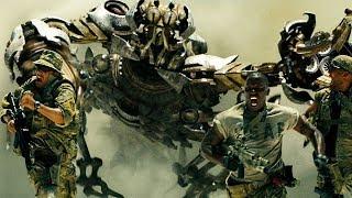 Скорпонок атакует группу выживших бойцов | Трансформеры | 2007