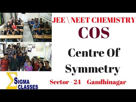 Trick For COS ( Centre Of Symmetry )  CHEMISTRY | JEE \ NEET | By Chintan Sir