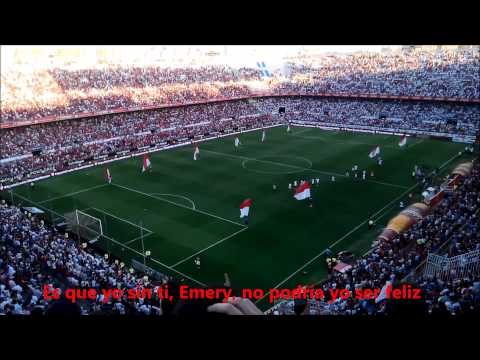 Cánticos a Unai Emery Sevilla - Almería