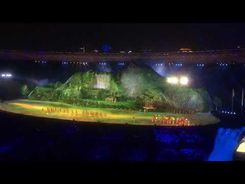 Tarian Adat Dan Lagu Daerah Fatin Dan Rosa Asian Games 2018
