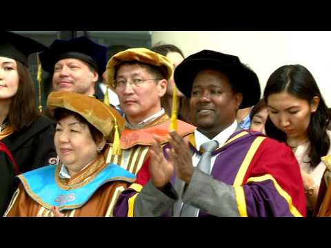 Nazarbayev University Graduation Ceremony 2017. Part II.