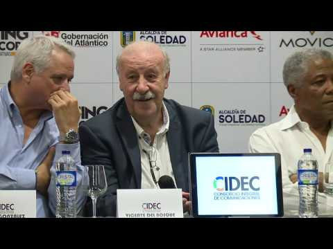Vicente Del Bosque en Colombia | Win Sports