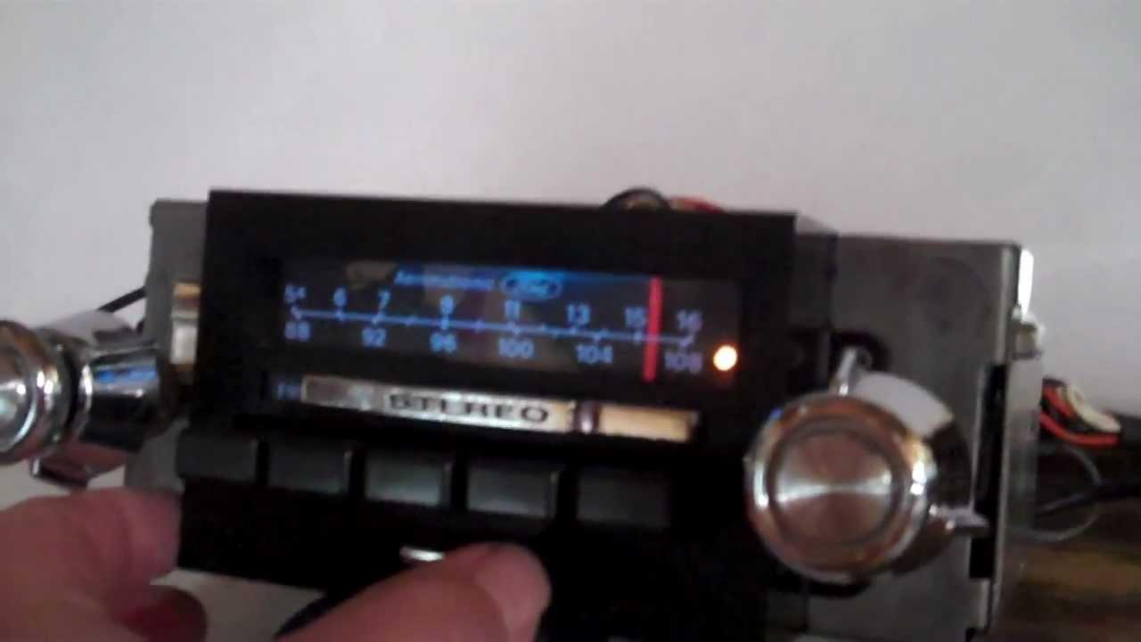 1973 1979 F150  F250  F350  Am Fm Stereo