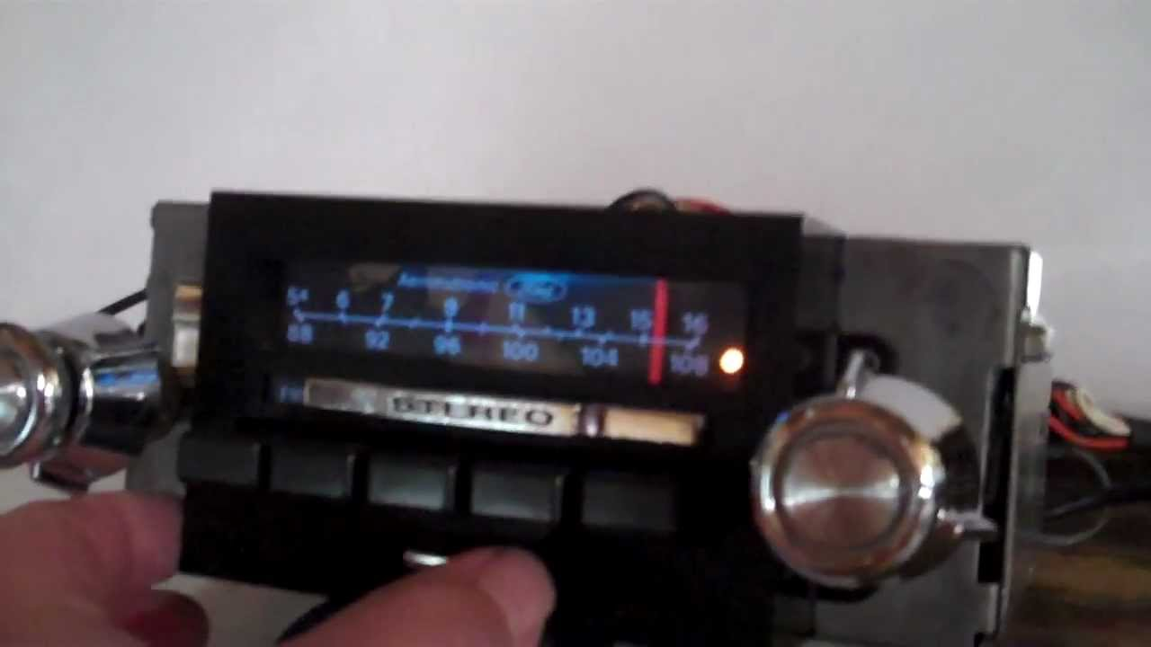 hight resolution of 1973 1979 f150 f250 f350 am fm stereo