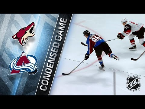 Arizona Coyotes vs Colorado Avalanche – Dec. 27, 2017 | Game Highlights | NHL 2017/18. Обзор матча