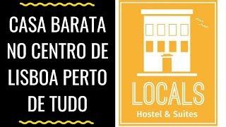 COMO É MORAR EM UM HOSTEL DE LISBOA - LOCALS HOSTEL REVIEW