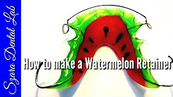 Ortho How to make a Watermelon Retainer (upper)