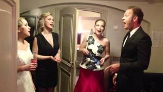 Lauris, Monika, Aisha, Luisa - Backstage & OnStage - Latvian Music Awards 2011