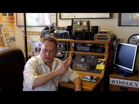 WDØAKX Ham Radio Shack Tour