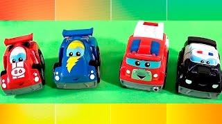 Машинки развивающие мультики все серии подряд!!! Рабочие и гоночные машины. Сборник мультфильмов