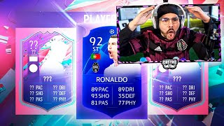 FUT BIRTHDAY PLAYER PICKS!! BLUE CR7 PACKED!! FIFA 21