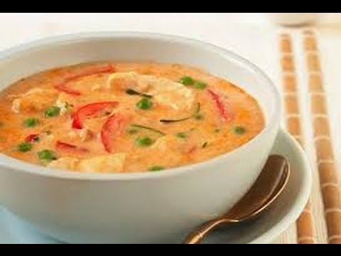 Spicy and healthy Thai chicken and Shrimp soup ( থাই চিকেন এবং চিংড়ী সূপ ) | Easy Tai soup recipe