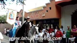 La Huerta Jalisco Desfile 16 de septiembre