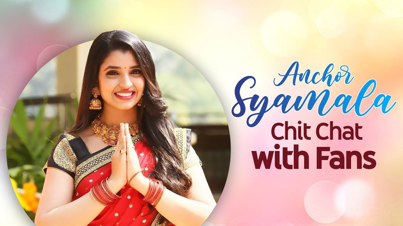 Anchor Syamala Chit Chat with Fans   Anchor Syamala Latest Videos   #StayHome & #StaySafe