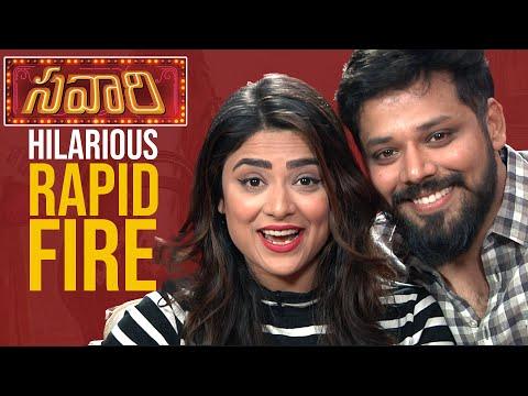 LAUGH RIOT: Actor Nandu - Priyanka Sharma's MOST HILARIOUS Rapid Fire | Savaari Movie Interview
