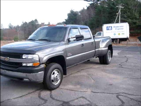 2002 Chevrolet Silverado 3500 HD Duramax Diesel Start Up ...
