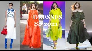 Модные платья весна лето 2021 Основные тренды
