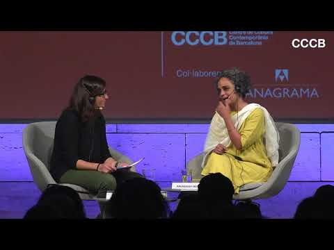 Idea, word and action. Arundhati Roy in conversation with Natza Farré.